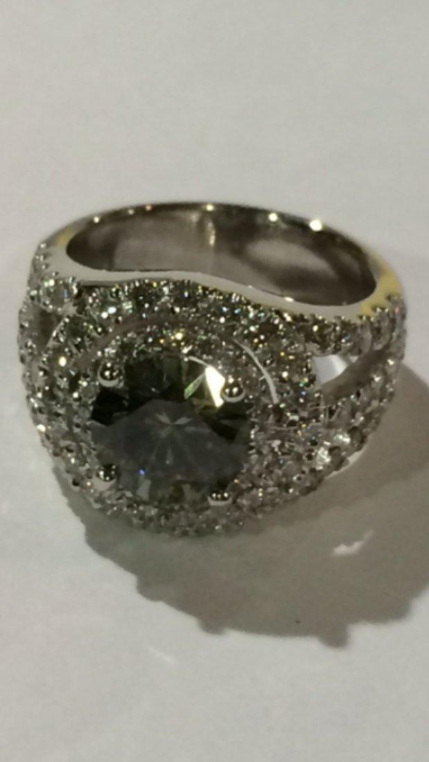 Gia Certified 1 99 Carat Vvs Diamond In 14k White Gold