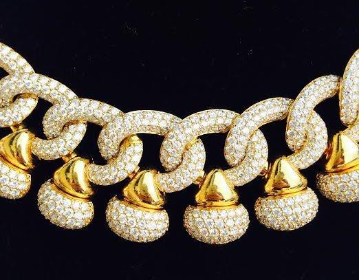 75 Carat Diamond Necklace after Bulgari - 2