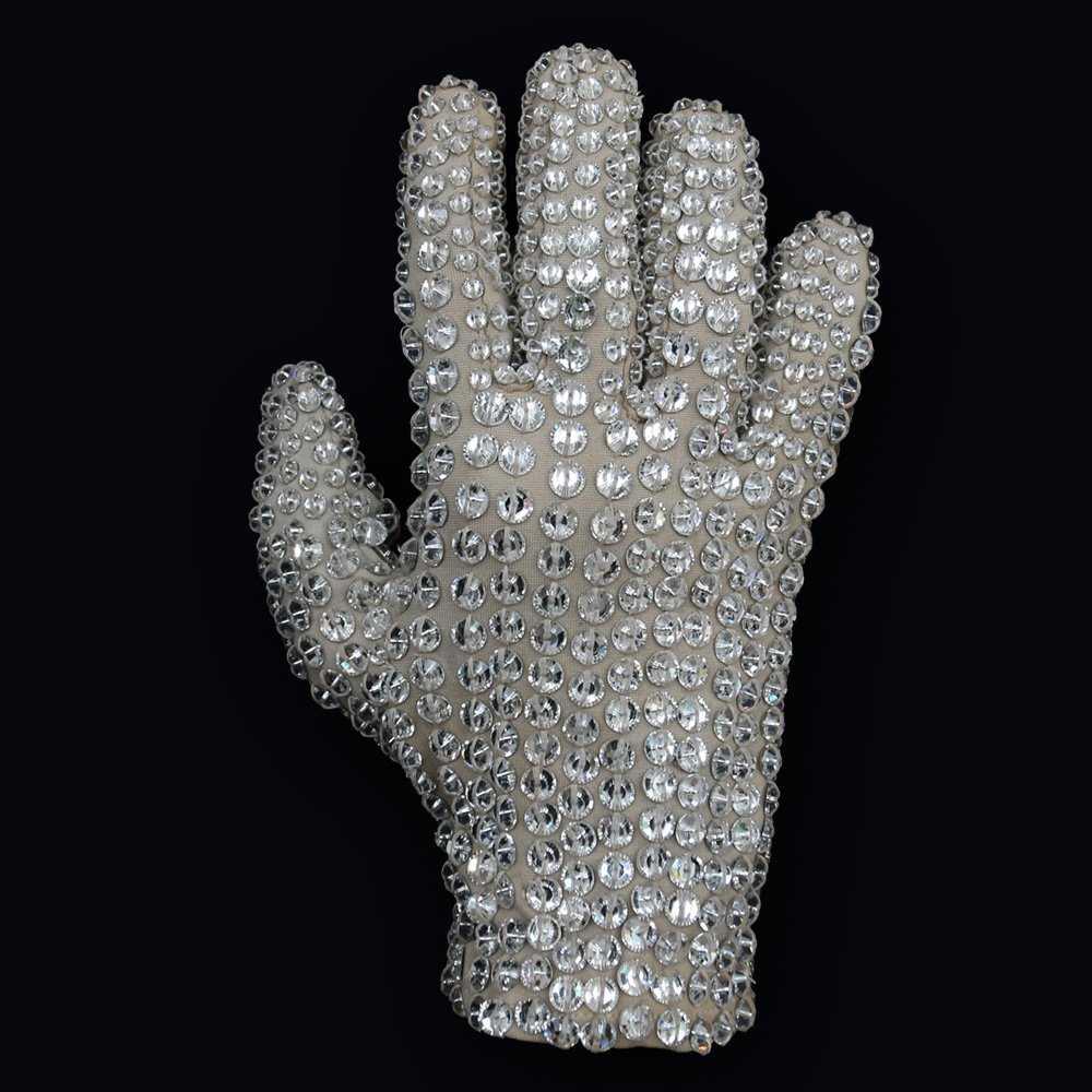 e2373167cb Michael Jackson Victory Tour worn Billie Jean glove