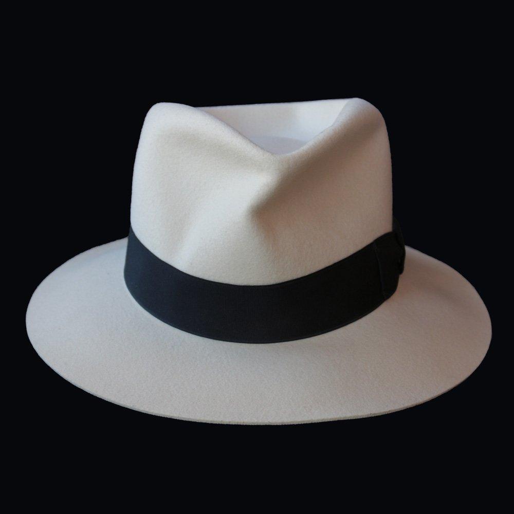 Michael Jackson Stage Worn White Fedora