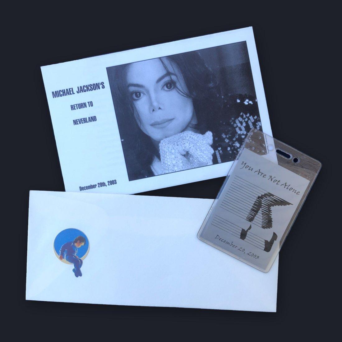 Michael Jackson Lot of 3 Neverland Ranch Items