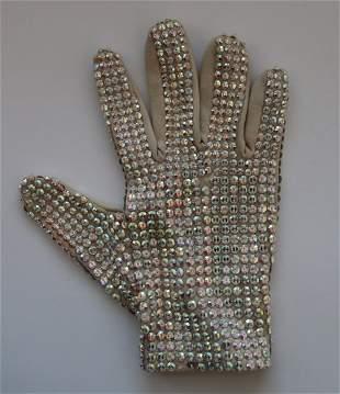 Michael Jackson Stage Used Swarovski Glove