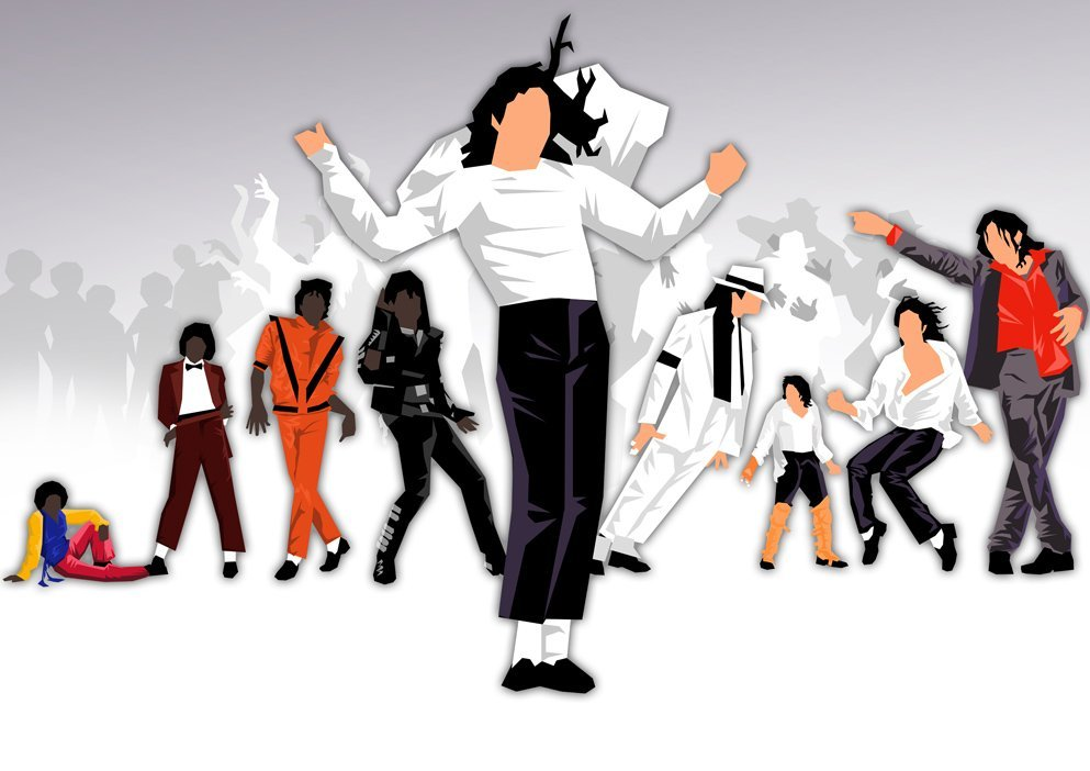 MICHAEL JACKSON LIMITED EVOLUTION POP-ART PRINT