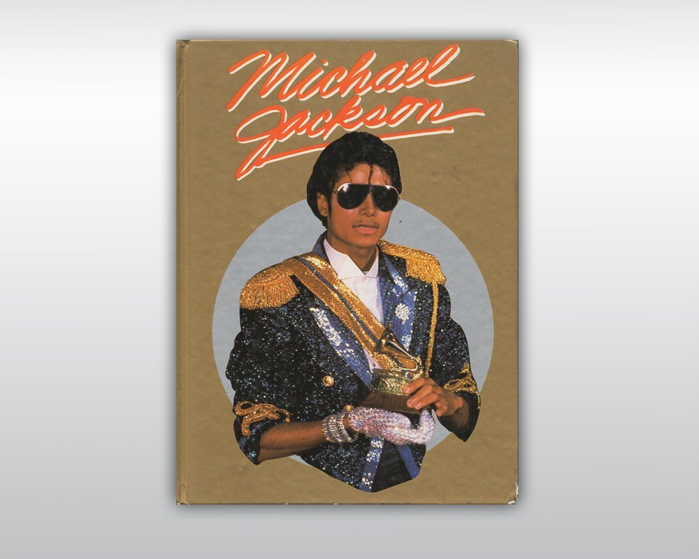 MICHAEL JACKSON SIGNED THRILLER ERA BOOK 1984