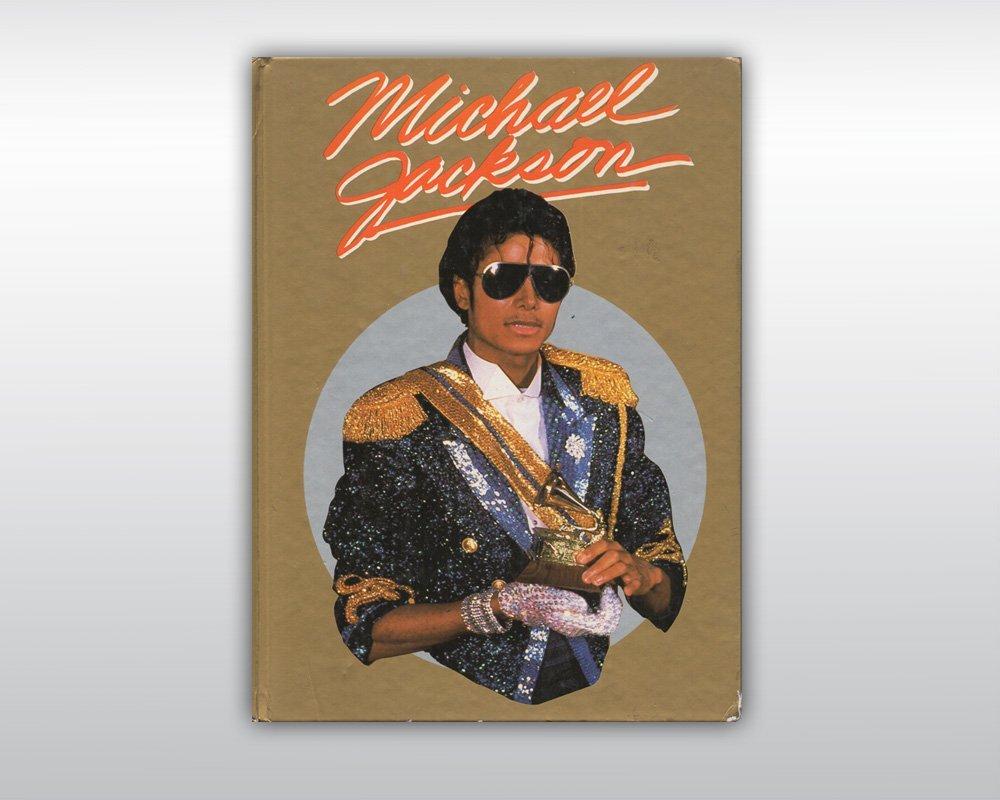 MICHAEL JACKSON SIGNED THRILLER ERA BOOK 1984