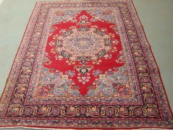 39:  Unique Beauty Large Persian Mashad Carpet 10x7