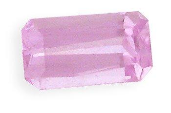 1007: 4.41ct Kunzite emerald cut loose gem
