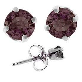 1cttw Color Change Sapphire stud earring