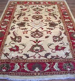 31000: Gorgeous Vegetable Dye Afghan Chobi Rug 10x7