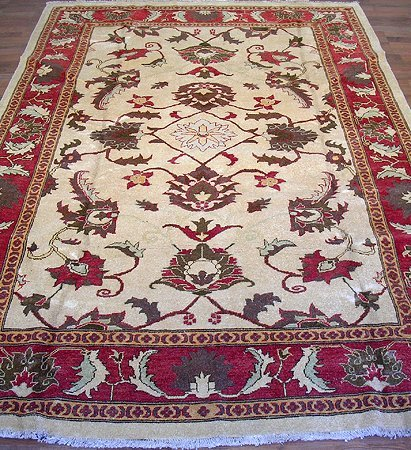 31000: Gorgeous Vegetable Dye Afghan Chobi Rug 10x7