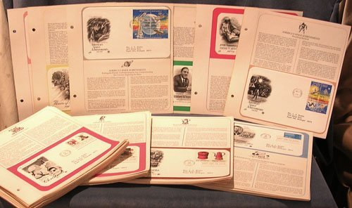 6322: Lot of 85 Postal Commemorative Society First Day
