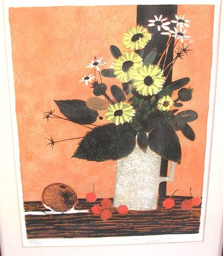 66004: Original Lithograph by listed artist Yves Ganne