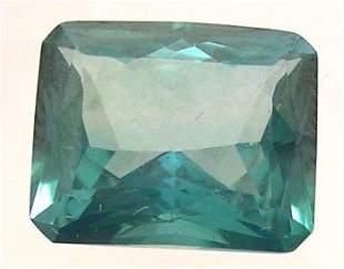 5+ct. Ever Green Topaz E-Cut Loose 11x9mm Stone