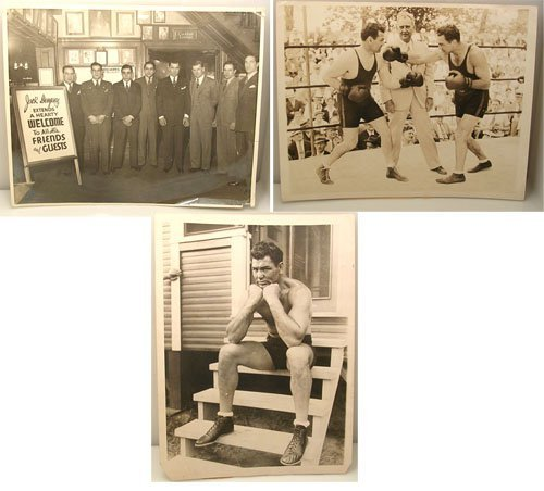 60002: Press Photographs of Jack Dempsey
