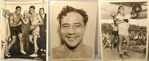 60003: Press Photographs of Boxer Max Baer