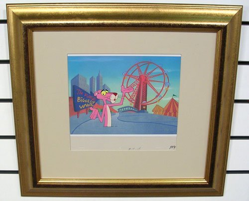 60007: Original Hand Inked Pink Panther Production Cel