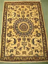 1394: Gorgeous Persian Nain Rug 4x3