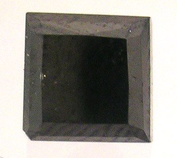 3321: 2.00ct Black Diamond Square 6x6mm Loose Ston