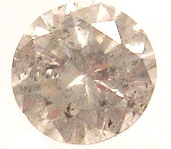 3322: Loose .27ct Round Diamond K Color