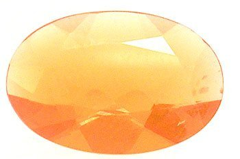 4121: 4+Ct. Mexican Fire Opal Oval Loose 13x11mm Stone