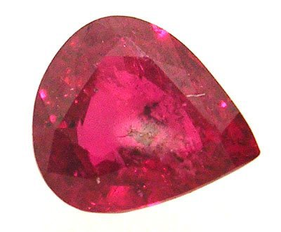 4315: 1.13Ct.Ruby Pear Loose 6x5mm Stone