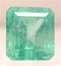 4373: 7.77ct Columbian Emerald Cushion Loose APPR $3108