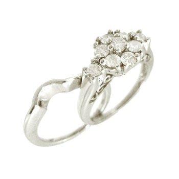 5114: 14KW 1cttw Diamond Rd Cluster Wedding Set Ring