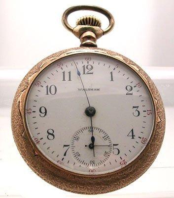 5308A: GFilled Waltham 99 Model 12S Pocket Watch 1902