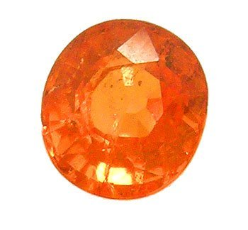5321: 2.62ct.Spessartite Garnet Oval Loose 8x7mm Stone