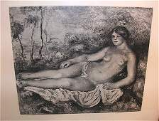 1199E: Original Heliogravure from Pierre-Auguste Renoir