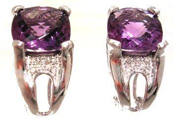 1102: 14KY .80ct Pink Sapphire Oval Diamond 3 stone Rin