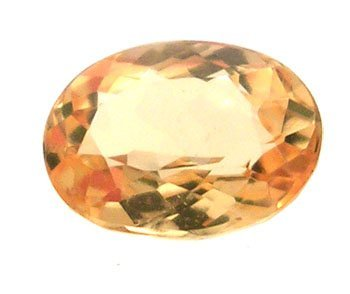 1320: 1.55+ct. Imperial Topaz Oval Loose 8x6mm Stone