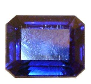 2113: 3.10ct Kyanite 10.3x5.9mm emerald cut loose
