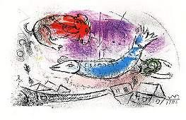 2170: Le Poisson Bleu from Marc Chagall