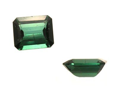 2119: 5.23ct Green Tourmaline E-Cut Loose 12x10mm