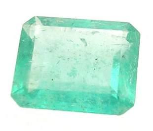 1.14+ct Columbian Emerald Cushion Loose 6x6mm Sto