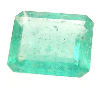 2120: 1.14+ct Columbian Emerald Cushion Loose 6x6mm Sto