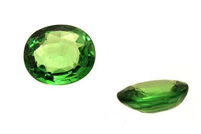 2122: 1+Ct.Tsavorite Garnet Oval Loose 7x5mm Stone