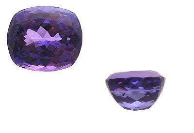 2186: 25.93Ct. Tanzanite Cushion Loose Stone APP$29820.