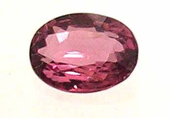 2317: 3.29Ct. Pink Spinel Oval Loose 9.5x8mm Stone APP$