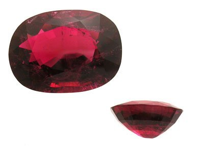 2359: 59.55ct. RubeliteRed Tourmaline Oval Looseappr $3