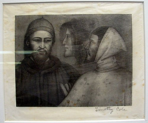 3: Wood Block Print from listed artist Timothy Cole 189