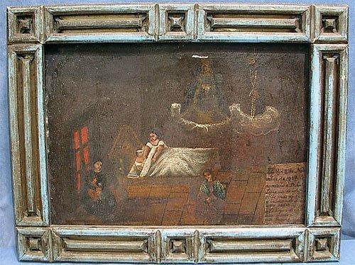 6: Original Oil on Tin 1868