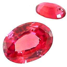 110A: 1ct Orange Sapphire oval loose gem