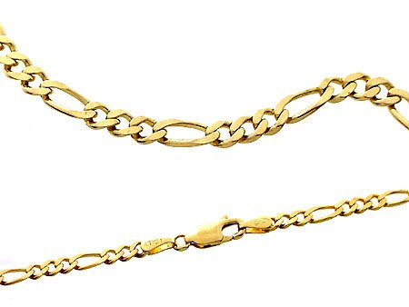 2110: 20in Classical Figaro Chain 9.3 grams