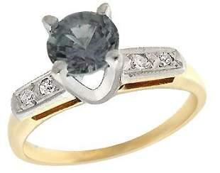 416101 14KY .50 Color Change Sapphire Dia antique