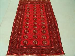 8684 Semi Antique Rugs Turkmon Bokara Rug 6x4