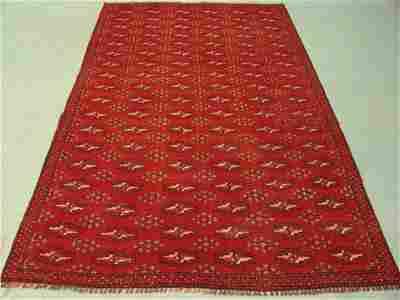 294A: 9472 Turkmon Style Persian Bokara Rug 8x5