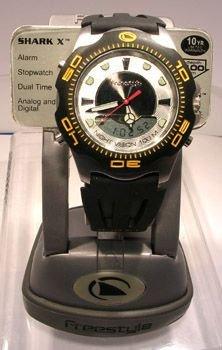 125: Freestyle 100 Meter Shark X watch