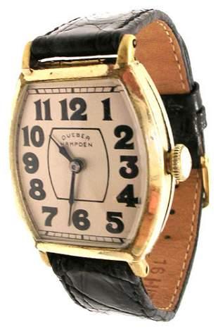 Dueber Hampden Tonneau Watch